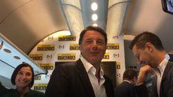 Il treno non è ancora partito e Renzi è già stanco dei giornalisti: