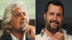 L'asse digitale tra Grillo e Salvini è forte sulla