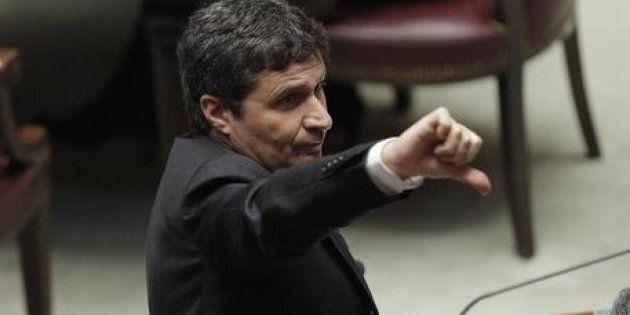David Ermini, responsabile Giustizia nella nuova segreteria del Partito democratico. ANSA/GIUSEPPE