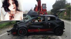 Ragazza di Livorno muore in un incidente. L'amico alla guida, positivo all'alcol test, arrestato per omicidio