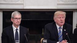 L'espressione di Tim Cook la dice lunga sull'incontro di Trump con i CEO delle più grandi aziende tech degli