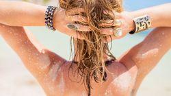 Come mettere in salvo i vostri capelli dal sole senza spendere un