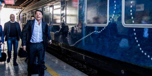 Inizia il viaggio social di Matteo Renzi con il