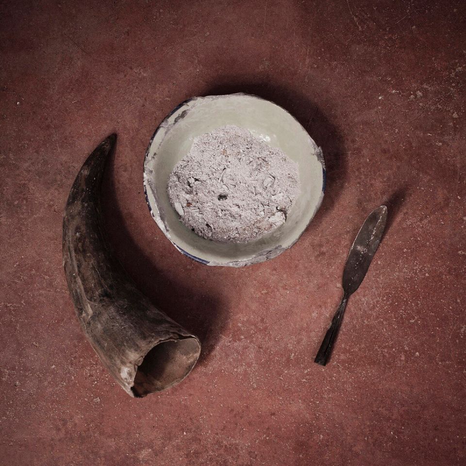 Still life of the instruments that are commonly used by the Pokot people in the practice of FGM in West...