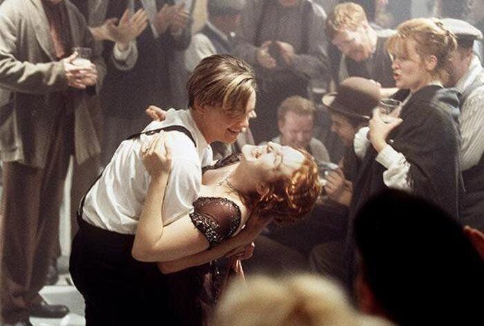 Leonardo DiCaprio and Kate Winslet Titanic Baja California 1996 ?Douglas Kirkland. In mostra dal 18 ottobre...