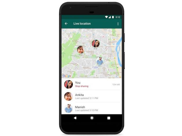 Con la nuova funzione di WhatsApp tutti sapranno dove