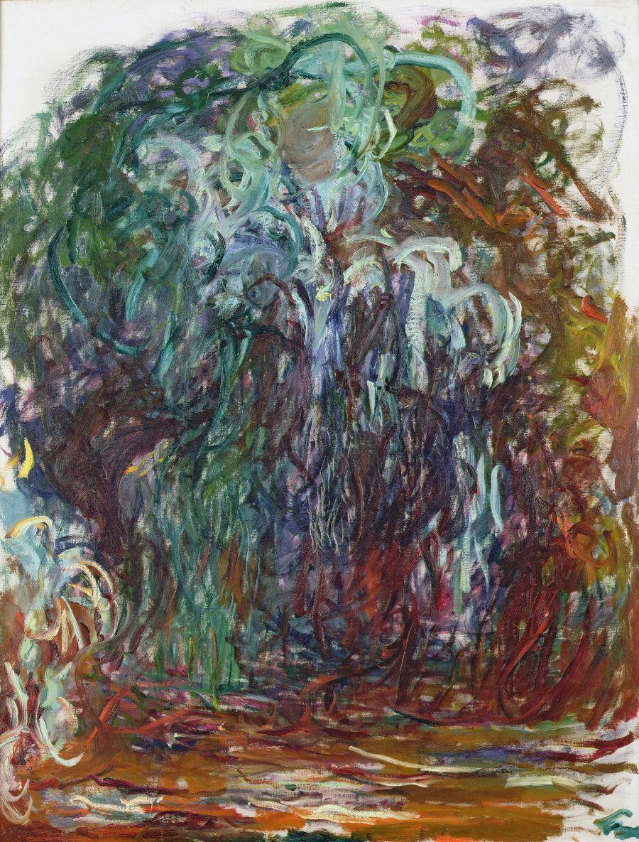 Claude Monet (1840-1926), Salice Piangente 1921-1922 Olio su tela 116x89 - Parigi, Museée Marmottan