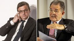 Lungo colloquio tra Romano Prodi e Carlo Calenda a