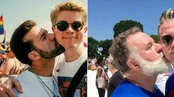 """""""È solo una fase"""": coppia gay ricrea la foto del pride del '93 ed è semplicemente"""