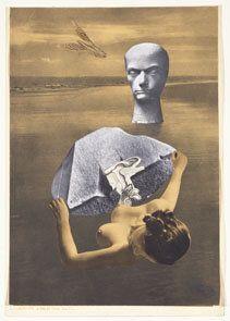 Karel Teige 1900, Prague – 1951, Prague On the Banks of Baudelaire 1942 Collage on paper 42 x 29 cm...