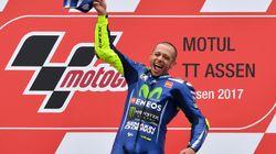 In Moto Gp comanda l'Italia: Rossi vince in Olanda e Dovizioso è in testa al