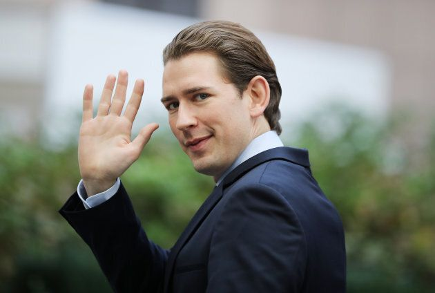 Austrian Chancellor in waiting Sebastian