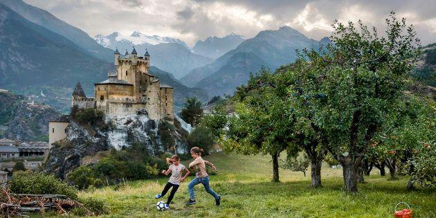 Saint-Pierre, Valle d'Aosta / Aosta Valley, Italia/Italy - 2016 - ©Steve