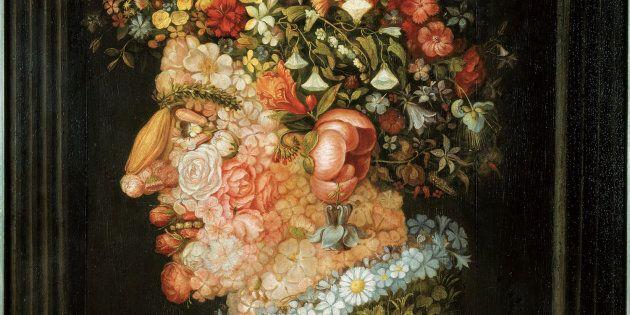 Giuseppe Arcimboldo, La Primavera 1555-1569 circa, Olio su tela - Monaco di Baviera,
