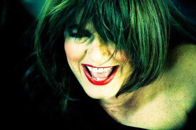 Italian singer Nada Malanima on the set of her music video 'Stretta'. (Photo by Simone Cecchetti/Corbis...