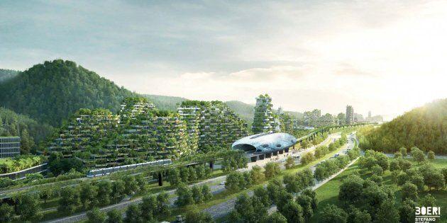 Dopo il Bosco verticale Stefano Boeri costruisce la prima Forest City al mondo, ma non sarà in