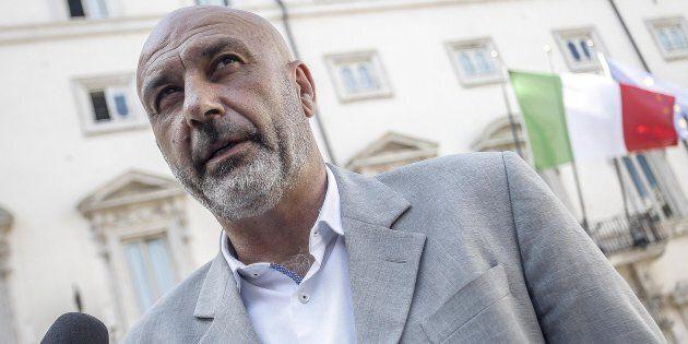 Il sindaco di Amatrice, Sergio