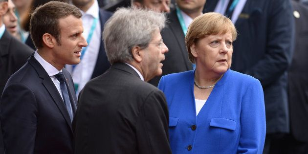 Angela Merkel ospita a Berlino i leader europei per preparare il G20 di