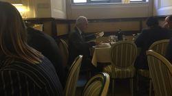 Dai Forconi alle forchette, il generale Pappalardo 'beccato' al ristorante del Senato: all you can eat (con dolce e antipasto...