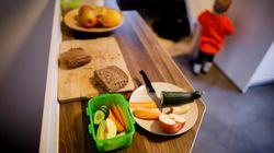 El 90% de los padres cree que la comida de los comedores escolares debe