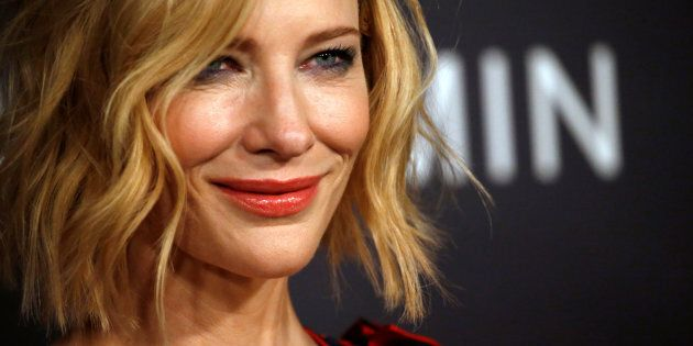 Actor Cate Blanchett poses at the third annual InStyle Awards in Los Angeles, California, U.S., October...