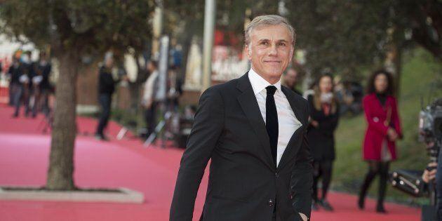 """Christoph Waltz, prima star sul red carpet alla Festa del cinema di Roma: """"Adoro Tarantino, ma l'ammirazione..."""