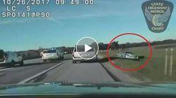 In Ohio la polizia ha inseguito per 20 chilometri un'auto che un bambino di 10 anni aveva rubato alla