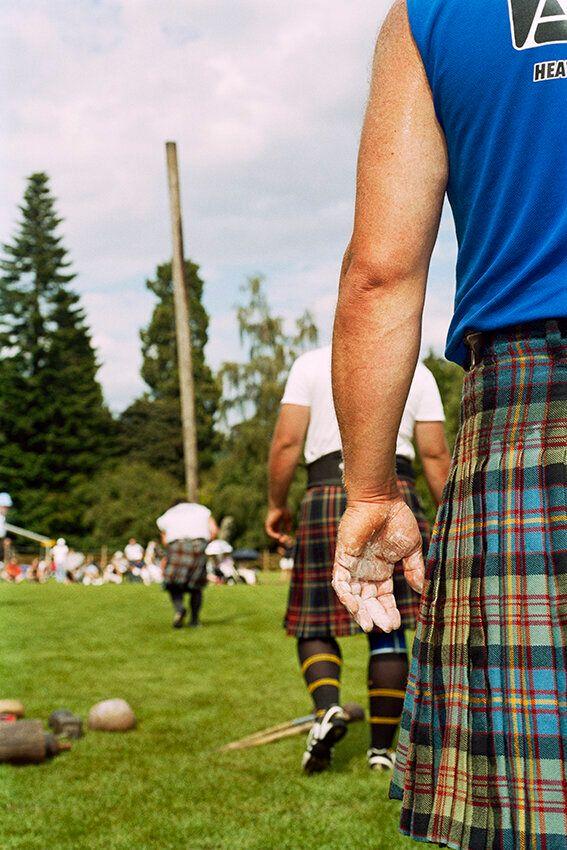 GB. Scotland. Inveraray. Highland Games.