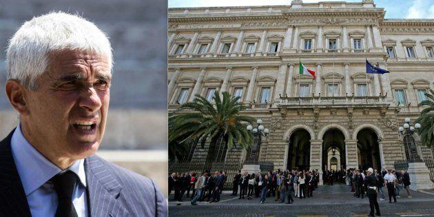 Pier Ferdinando Casini, presidente della Commissione Banche: