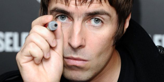 Liam Gallagher launches his new clothing range: Pretty Green, and signs autographs at Selfridges in