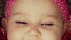 Pubblica la foto della figlia con un piercing sul viso e scatena le polemiche. Ma il motivo è