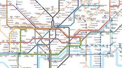 È stata disegnata una nuova mappa della metropolitana di Londra per le persone