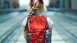 Bimba di 7 anni sfugge ai genitori, prende il treno, arriva in aeroporto e riesce ad