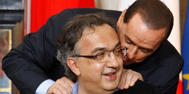 Silvio Berlusconi candida Sergio Marchionne