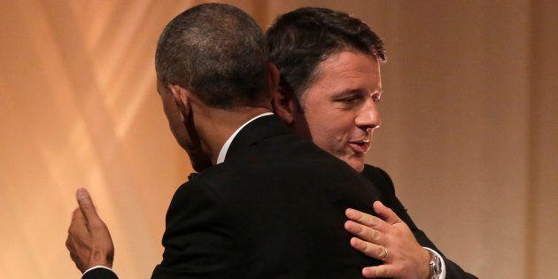 Renzi ritrova l'amico Obama: