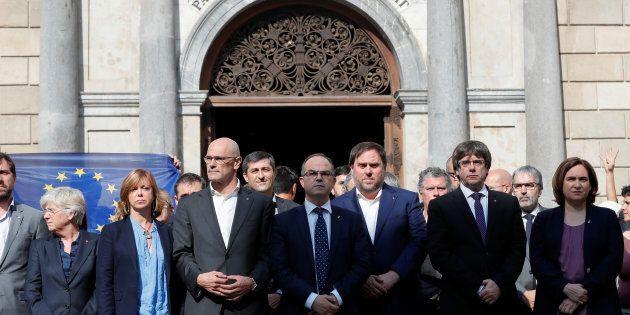 Ordine di arresto per 8 ministri del Govern
