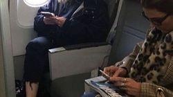 Struccata, su un volo in economy, in abbigliamento low cost: Madonna non è affatto una