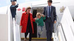 Il figlio di Trudeau che gioca a