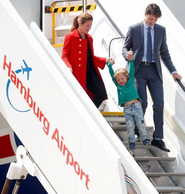 Justin Trudeau arriva al G20 e gioca a