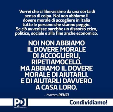 Ennesimo boomerang comunicativo per il Pd: su Facebook la card di Renzi