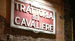 LA CENA DELLE BEFFE ALLA TRATTORIA DEL CAVALIERE (di A. De