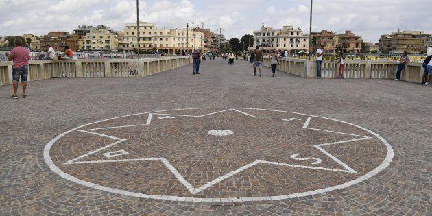 Nella foto: Il pontile di OstiaFabrizio Corradetti /