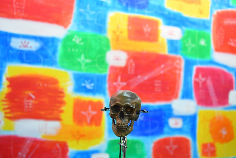 TURIN, ITALY - NOVEMBER 02: The opening of Artissima, International Fair of Contemporary Art on November...