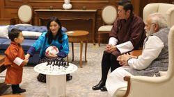 Il piccolo principe del Bhutan non ha rivali in fatto buone