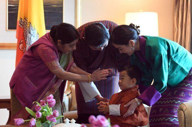 Il piccolo principe del Bhutan non ha rivali in fatto di buone