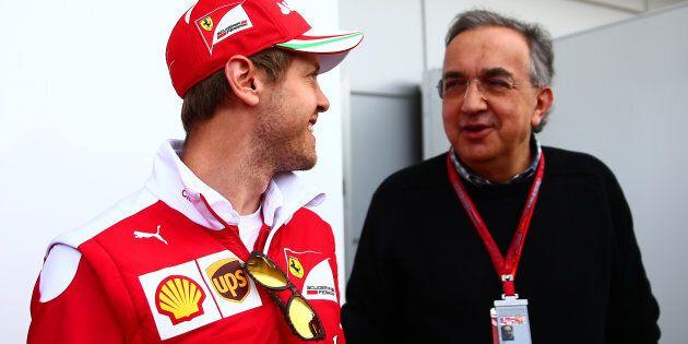 Sergio Marchionne minaccia l'addio della Ferrari alla Formula