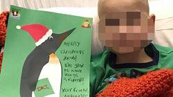 Il loro bimbo di 9 anni è malato allo stadio terminale, i genitori anticipano la festa di Natale per