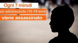 Ogni 7 minuti un bambino muore nel mondo a causa di una violenza dal volto