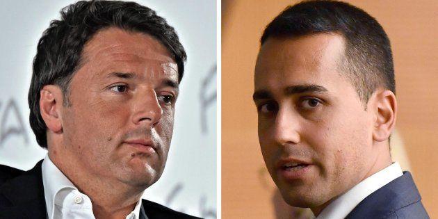 Matteo Renzi e Luigi Di Maio: il confronto martedì da