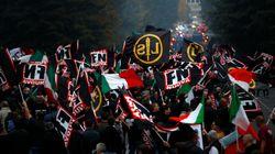 Contro lo ius soli a Roma sfila l'orgoglio fascista di Forza Nuova. Fiore:
